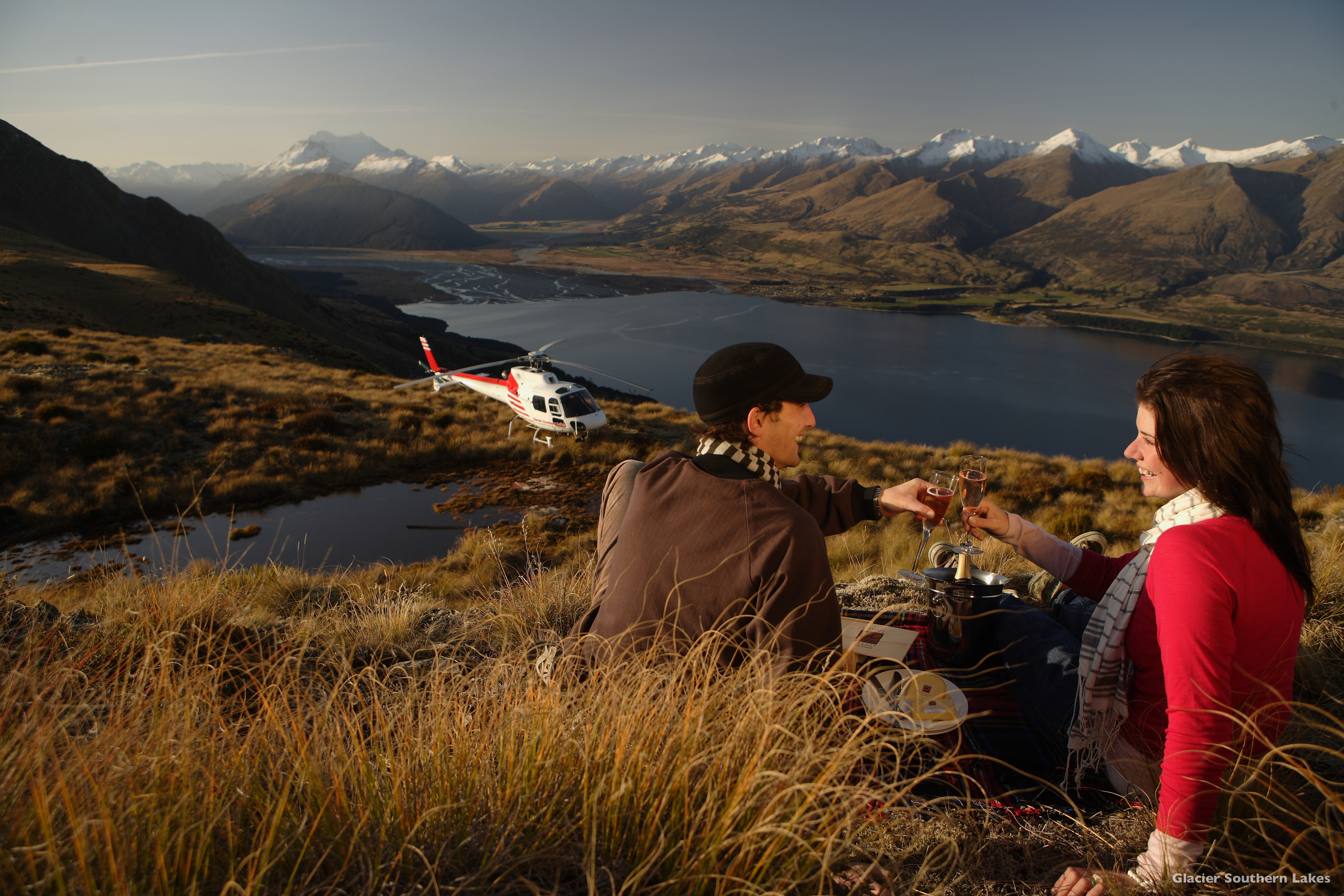 Queenstown Glacier Southern Lakes Helicopters