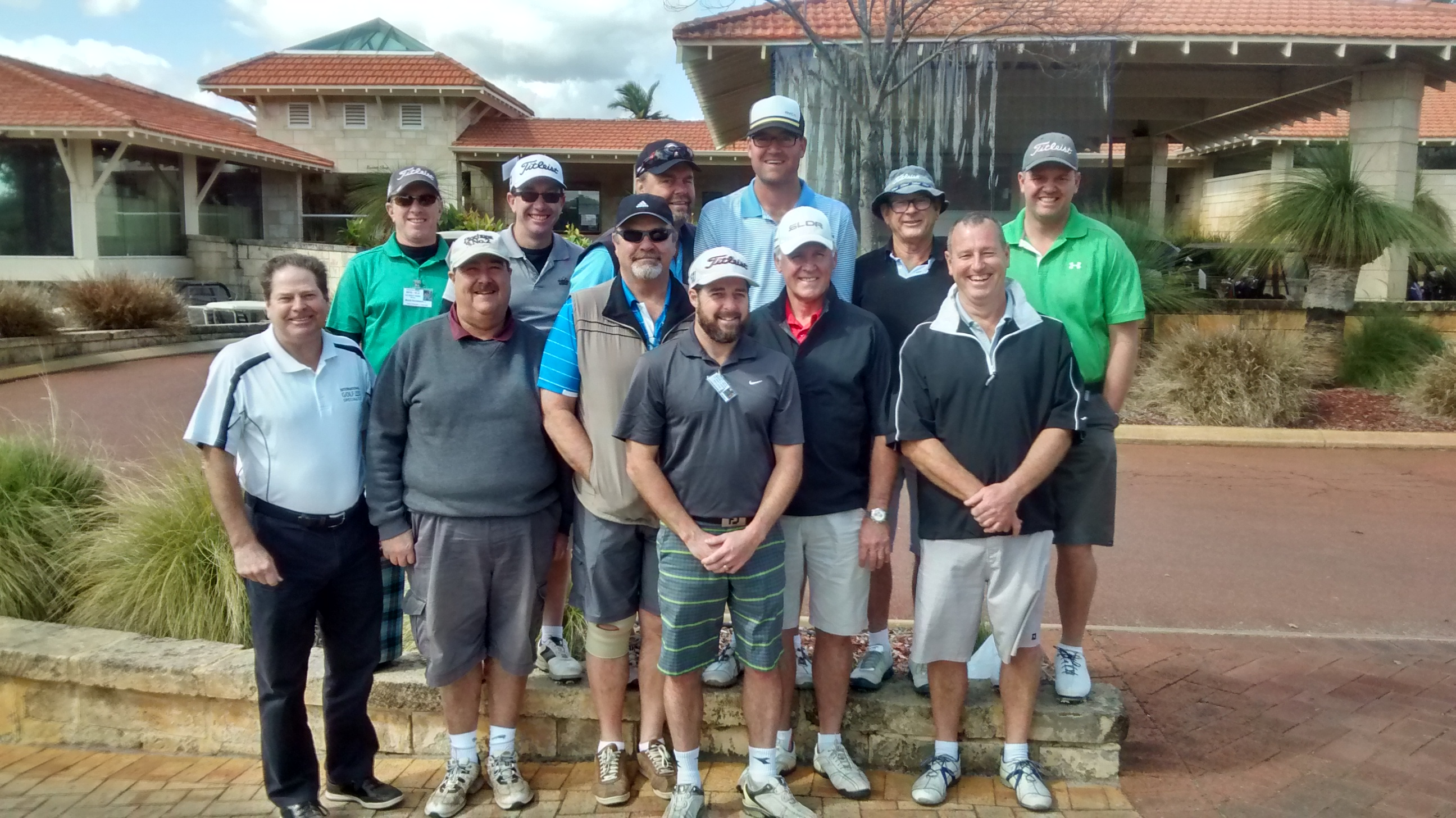 Our latest Perth Golf Tour, the Wiliamson Group!