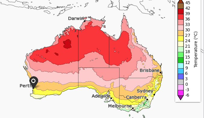 Image courtesy of Bureau of Meteorology