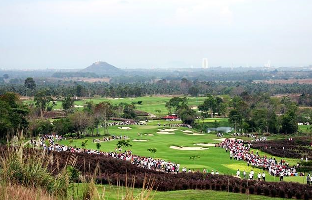 Plantation Course at Siam Country Club in Pattaya