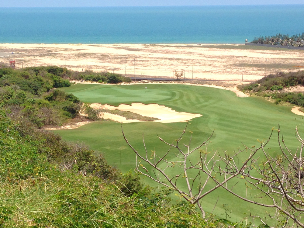 Vietnam golf course bluffs ho tram