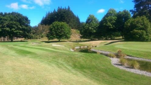 Wairakei golf course New Zealand